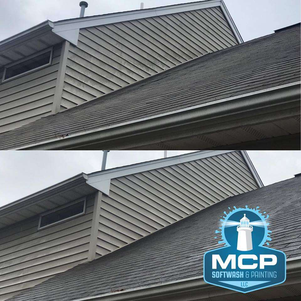 The results of MCP Soft Wash Exterior cleaning